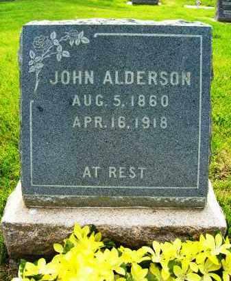 ALDERSON, JOHN - Boulder County, Colorado | JOHN ALDERSON - Colorado Gravestone Photos
