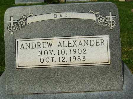 ALEXANDER, ANDREW - Boulder County, Colorado   ANDREW ALEXANDER - Colorado Gravestone Photos