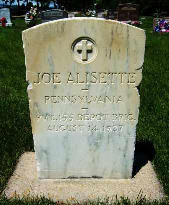 ALISETTE, JOE - Boulder County, Colorado   JOE ALISETTE - Colorado Gravestone Photos