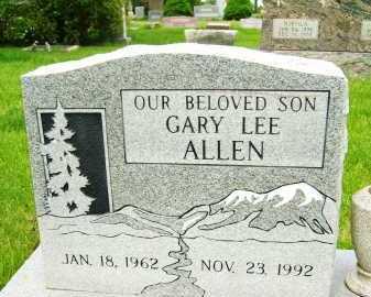 ALLEN, GARY LEE - Boulder County, Colorado | GARY LEE ALLEN - Colorado Gravestone Photos
