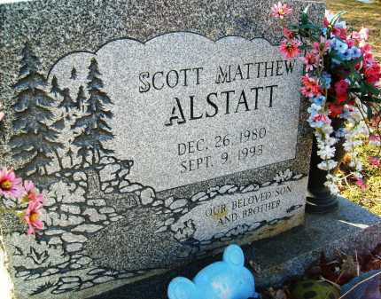 ALSTATT, SCOTT MATTHEW - Boulder County, Colorado | SCOTT MATTHEW ALSTATT - Colorado Gravestone Photos