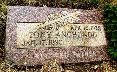 ANCHONDO, TONY - Boulder County, Colorado | TONY ANCHONDO - Colorado Gravestone Photos