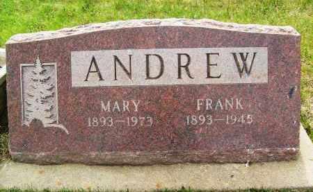 ANDREW, MARY - Boulder County, Colorado | MARY ANDREW - Colorado Gravestone Photos