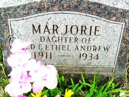 ANDREW, MARJORIE - Boulder County, Colorado | MARJORIE ANDREW - Colorado Gravestone Photos