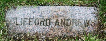 ANDREWS, CLIFFORD - Boulder County, Colorado | CLIFFORD ANDREWS - Colorado Gravestone Photos