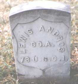 ANDROS, LEWIS - Boulder County, Colorado | LEWIS ANDROS - Colorado Gravestone Photos