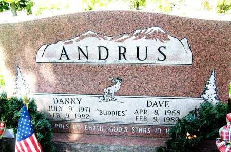 ANDRUS, DANNY - Boulder County, Colorado | DANNY ANDRUS - Colorado Gravestone Photos