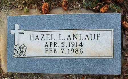 ANLAUF, HAZEL L. - Boulder County, Colorado   HAZEL L. ANLAUF - Colorado Gravestone Photos