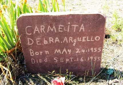 ARGUELLO, CARMELITA DEBRA - Boulder County, Colorado | CARMELITA DEBRA ARGUELLO - Colorado Gravestone Photos