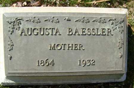 BAESSLER, AUGUSTA - Boulder County, Colorado   AUGUSTA BAESSLER - Colorado Gravestone Photos