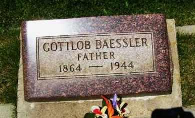 BAESSLER, GOTTLOB - Boulder County, Colorado | GOTTLOB BAESSLER - Colorado Gravestone Photos