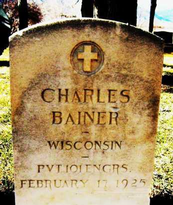 BAINER, CHARLES - Boulder County, Colorado | CHARLES BAINER - Colorado Gravestone Photos