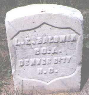 BALDWIN, L. E. - Boulder County, Colorado   L. E. BALDWIN - Colorado Gravestone Photos