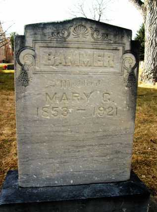 BAMMER, MARY C. OR G. - Boulder County, Colorado | MARY C. OR G. BAMMER - Colorado Gravestone Photos