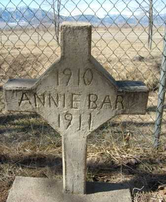 BAR, ANNIE - Boulder County, Colorado | ANNIE BAR - Colorado Gravestone Photos