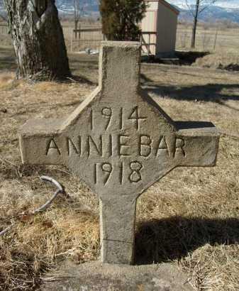 BAR, ANNIE - Boulder County, Colorado | ANNIE BAR - Colorado Gravestone Photos