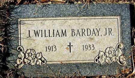 BARDAY, J. WILLIAM, JR. - Boulder County, Colorado   J. WILLIAM, JR. BARDAY - Colorado Gravestone Photos