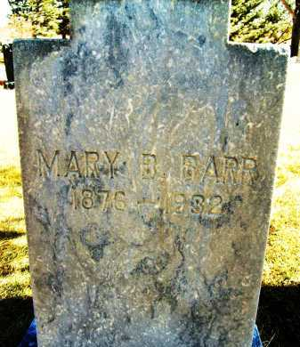 BARR, MARY B. - Boulder County, Colorado | MARY B. BARR - Colorado Gravestone Photos