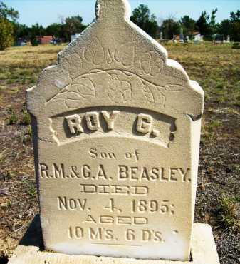 BEASLEY, ROY G. - Boulder County, Colorado | ROY G. BEASLEY - Colorado Gravestone Photos