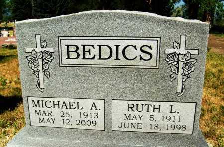 BEDICS, RUTH L. - Boulder County, Colorado | RUTH L. BEDICS - Colorado Gravestone Photos