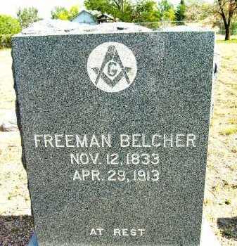 BELCHER, FREEMAN - Boulder County, Colorado   FREEMAN BELCHER - Colorado Gravestone Photos