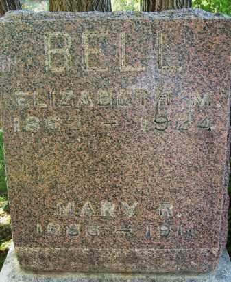 BELL, ELIZABETH M. - Boulder County, Colorado | ELIZABETH M. BELL - Colorado Gravestone Photos