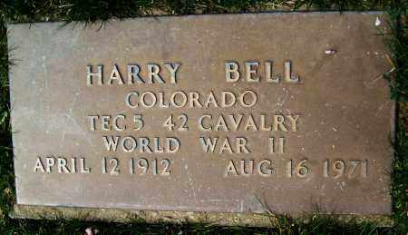 BELL, HARRY - Boulder County, Colorado | HARRY BELL - Colorado Gravestone Photos