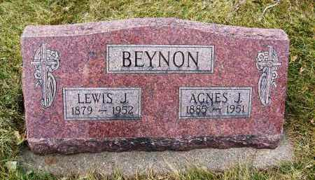 BEYNON, AGNES J. - Boulder County, Colorado | AGNES J. BEYNON - Colorado Gravestone Photos