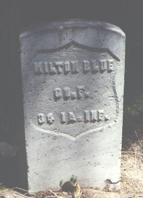 BLUE, MILTON - Boulder County, Colorado | MILTON BLUE - Colorado Gravestone Photos