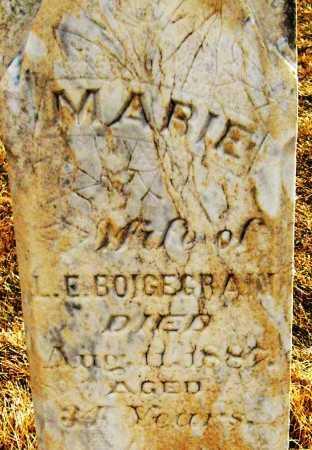 BOIGEGRAIN, MARIE - Boulder County, Colorado   MARIE BOIGEGRAIN - Colorado Gravestone Photos