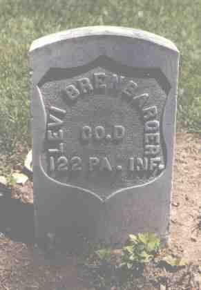 BRENBARGER, LEVI - Boulder County, Colorado | LEVI BRENBARGER - Colorado Gravestone Photos