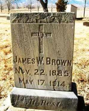 BROWN, JAMES W. - Boulder County, Colorado | JAMES W. BROWN - Colorado Gravestone Photos