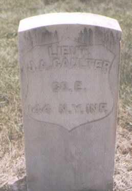 CAULTER, J. A. - Boulder County, Colorado | J. A. CAULTER - Colorado Gravestone Photos