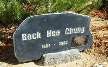 CHUNG, BOCK HEE - Boulder County, Colorado | BOCK HEE CHUNG - Colorado Gravestone Photos