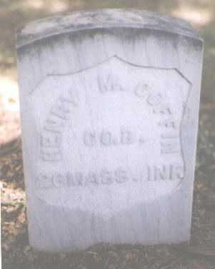 COFFIN, HENRY M. - Boulder County, Colorado | HENRY M. COFFIN - Colorado Gravestone Photos