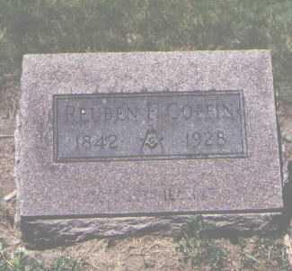 COFFIN, REUBEN - Boulder County, Colorado   REUBEN COFFIN - Colorado Gravestone Photos