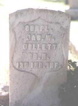 COLLETT, JAMES W. - Boulder County, Colorado   JAMES W. COLLETT - Colorado Gravestone Photos