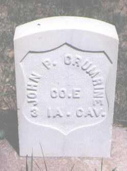 CRUMRINE, JOHN P. - Boulder County, Colorado | JOHN P. CRUMRINE - Colorado Gravestone Photos