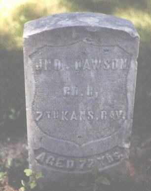 DAWSON, JNO. - Boulder County, Colorado | JNO. DAWSON - Colorado Gravestone Photos