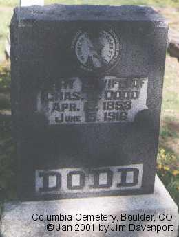 DODD, MARY E. - Boulder County, Colorado | MARY E. DODD - Colorado Gravestone Photos