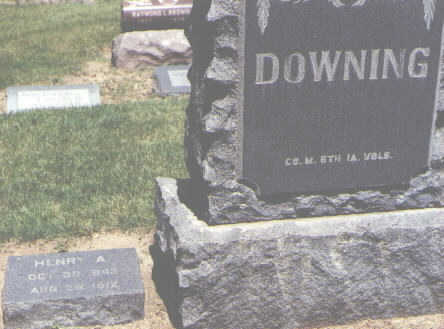 DOWNING, HENRY A. - Boulder County, Colorado | HENRY A. DOWNING - Colorado Gravestone Photos