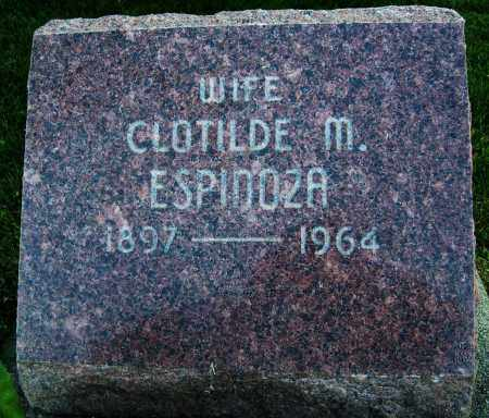 ESPINOZA, CLOTILDE M. - Boulder County, Colorado   CLOTILDE M. ESPINOZA - Colorado Gravestone Photos