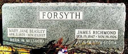 BEASLEY FORSYTH, MARY JANE - Boulder County, Colorado   MARY JANE BEASLEY FORSYTH - Colorado Gravestone Photos