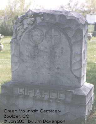 GIRARDO, MARIA G. - Boulder County, Colorado | MARIA G. GIRARDO - Colorado Gravestone Photos