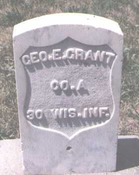 GRANT, GEORGE E. - Boulder County, Colorado   GEORGE E. GRANT - Colorado Gravestone Photos