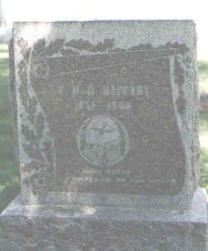 HAPPART, F. M. D. - Boulder County, Colorado | F. M. D. HAPPART - Colorado Gravestone Photos