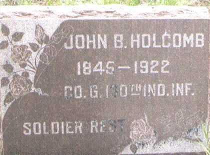 HOLCOMB, JOHN B - Boulder County, Colorado | JOHN B HOLCOMB - Colorado Gravestone Photos