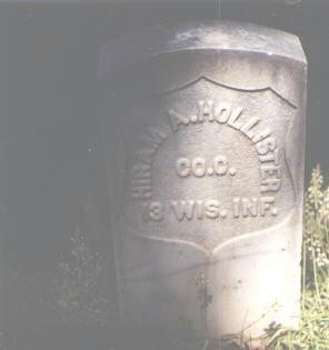 HOLLISTER, HIRAM A. - Boulder County, Colorado | HIRAM A. HOLLISTER - Colorado Gravestone Photos