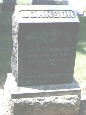 JOHNSON, JOHN G. - Boulder County, Colorado | JOHN G. JOHNSON - Colorado Gravestone Photos