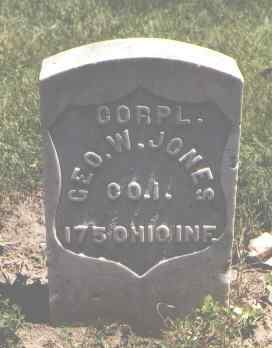 JONES, GEO. W. - Boulder County, Colorado | GEO. W. JONES - Colorado Gravestone Photos